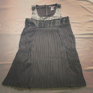 Alice & Olivia dress with sequin and pleats